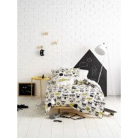 Calling All Superheroes Duvet Cover Set