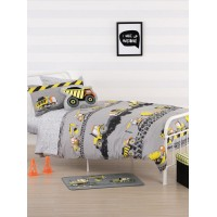 Construction Zone Duvet Cover Set