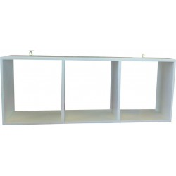 Wall Shelf: 3 Division