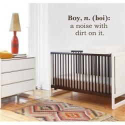 Boy, a noise with dirts Vinyl