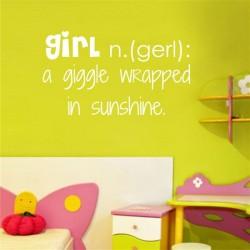 Girl, a giggle Vinyl