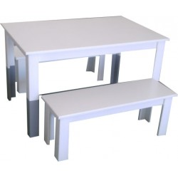 Kiddies Table & Bench set