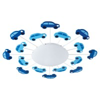 Car Ceiling Light Blue