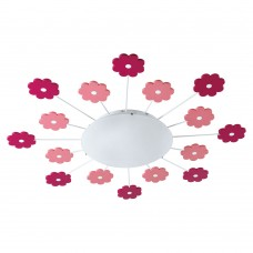 Flower Ceiling Light -Light Pink