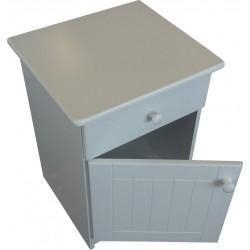 Door and Drawer Pedestal