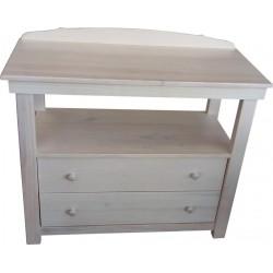 2 Drawer Compactum - Pine Limewash
