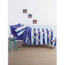 Ahoy There Duvet Cover Set