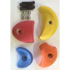 Grips set- Mixed pack of four