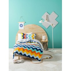 Wavelength Blue  Duvet Cover Set