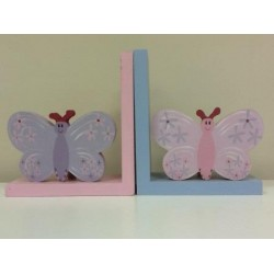 Butterfly Motif and Bookend