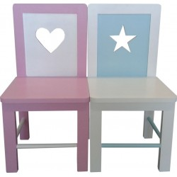 Astra Kiddies Heart/Star/Aeroplane Chair