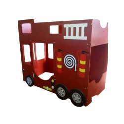 Fire Engine Double Bunk
