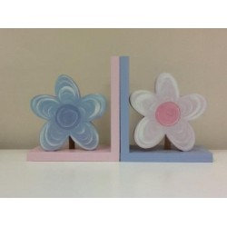 Flower Motif and Bookend