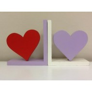 Heart Motif and Bookend