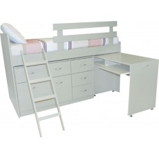 Keagan Low Loft Bed