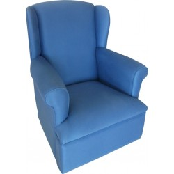 Wing Back Rocking Chair