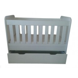 Solid End Cot with drawer