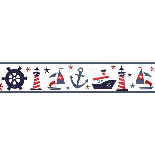 nautical nursery wallpaper border