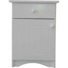 Door and Drawer Pedestal